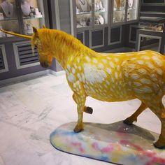 yellow unicorn...