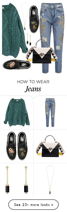 """""""simple"""" by ratihpph on Polyvore featuring Essentiel, Vans, Boutique by Lola and David Yurman"""