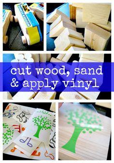 Ginger Snap Crafts: DIY {cute & easy} blocks {tutorial}