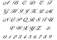 Písmo | Zdobené monogramy