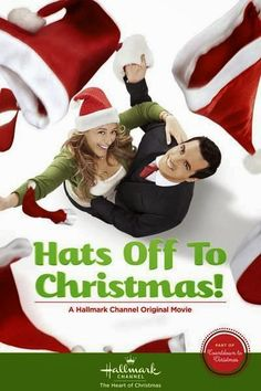 "Its a Wonderful Movie - Your Guide to Family Movies on TV: Hallmark Christmas Movie ""Hats Off to Christmas!"" starring Atonio Cupo and Haylie Duff"