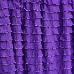 Ruffle Fabric 1 Inch Wide Grape Cascading Ruffle Fabric Boutique Quality by…