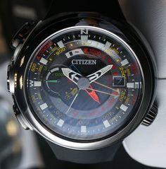 Citizen Promaster Altichron Cirrus Watch Hands-On