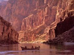 Grand Canyon--I have heard from some reliable sources that a raft trip down the Grand Canyon is one of the best trips ever. I think you need to reserve a long time in advance, but it's on the bucket list.