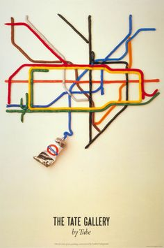1995.1823-Poster-The-Tate-Gallery-by-tube-by-David-Booth-of-the-agency-Fine-White-Line-1987.