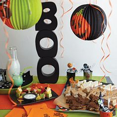 10 Memorable Halloween Menus from Gooseberry Patch  | Scary School Party | MyRecipes.com
