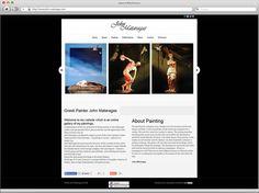 Κατασκευή ιστοσελίδας ζωγράφου