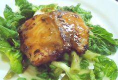 Fusion Cuisine: Asian Style Halibut with Sesame-Hoisin Glaze and Citrus Bok Choy Salad