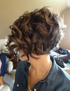 So Cute Short Curly Haircuts 2015 - 2016 for Women