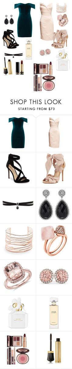 """Wedding  🖤💜"" by loversofblack on Polyvore featuring moda, Nicholas, Imagine by Vince Camuto, Alexandre Birman, Fallon, Phillip Gavriel, Alexis Bittar, Michael Kors, Allurez ve Marc Jacobs"