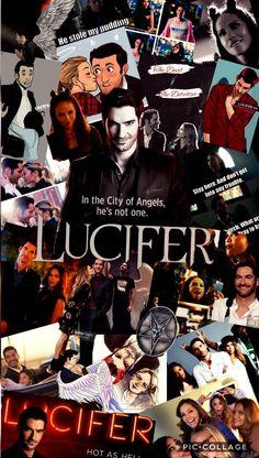 Lucifer Tv Show Wallpaper Netflix Series, Series Movies, Tv Series, Movie Wallpapers, Cute Wallpapers, The Witcher 2, Pretty Little Liars, Fangirl, Tom Ellis Lucifer