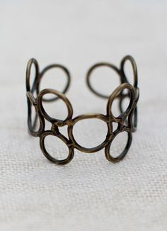 Circles Forever Bracelet (Brass) @Noonday Collection
