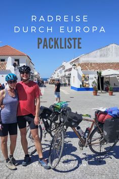 6-monatige Radreise durch Europa: Hier findest du die gesamte Packliste! Radler, Going Solo, Soloing, Backpacking, Travel Destinations, Wanderlust, Adventure, Ursula, Kids