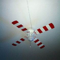 Ceiling fan make over diy pinterest ceiling fan ceilings and cat in the hat ceiling fan i taped and spray painted it mozeypictures Choice Image