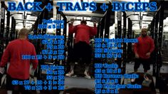 Back + Biceps + Traps http://youtu.be/lc27YLWpeQY