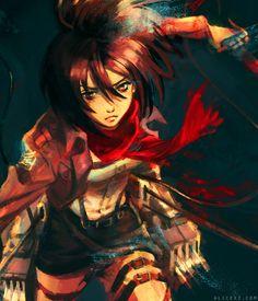 Attack on Titan | 進撃の巨人 - Mikasa Ackerman by Alice X. Zhang *