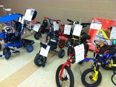 2014 Fall KID MANIA Hall 4 - Bikes.   www.KidManiaSale.com