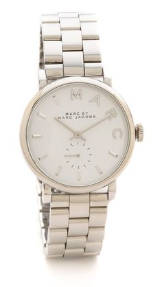Marc by Marc Jacobs Baker Watch if this is silver