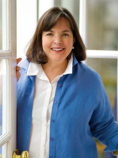 Ina Garten, chef. I love the relationship she has with her husband! Inspired to create menus based on what he will like to eat...
