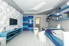 Cosmic room for boys