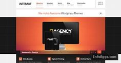 Interakt Responsive WordPress Agency Theme for Corporate & Business