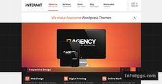 Interakt Responsive WordPress Agency Theme for Corporate & Business