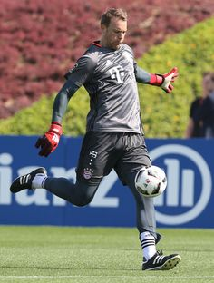 a4448b8c2b2 In goal for FIFA s Team Of The Year is Bayern Munich s and Germanys number  1 Manuel