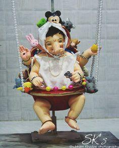 "1,700 Likes, 13 Comments - Bappa Majha (@bappamajha_official) on Instagram: ""बालगणेश 🙏 Photo @khadpe_shubham_sk ______________________________________ Use Hashtag/ हॅशटॅग वापरा…"" Krishna Art, Hare Krishna, Ganesha Art, Krishna Images, Lord Ganesha, Shivaji Maharaj Wallpapers, Shree Ganesh, Sita Ram, Baby Ganesha"