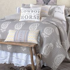 Don't Flatter Yourself Cowboy Quilted Bedding Collection