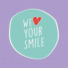 No nos cansaremos de decirlo: ¡Nos encanta verte sonreír! :) En verdad creemos que una sonrisa puede cambiar el mundo pues mejora tu autoestima, tu imagen y es un reflejo de felicidad.