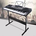 61 Key Music Electronic Keyboard Electric Digital Piano Organ With Stand for sale online Digital Piano Keyboard, Music Keyboard, Portable Piano, Piano For Sale, Electric Piano, Music Pictures, Music Gifts, Music Covers, Electronic Music