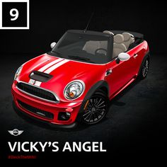 Her secret? The electrifying 208 topless horsepower of the MINI John Cooper Works Convertible. How would you dress up your dream MINI? #DeckTheMINI