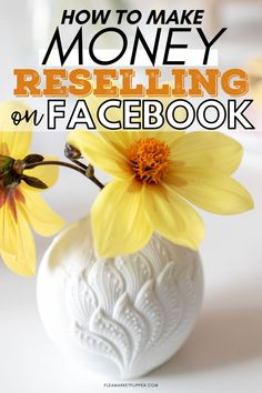 How To Make Money Reselling On Facebook | Profitable Business Ideas - Are Facebook yard sale sites the best place to sell you stuff? Click to learn how you can use Facebook yard sale sites to flip and resell unwanted items, and how to make a lot of money from them this month! | Flea Market Flipper | Facebook Marketplace | Reselling Business | Flipping Items For Profit #flipping #thrifting #reselling #reseller #waystomakemoney #payoffdebt #entrepreneur