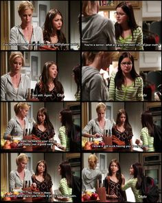 Modern Family S4-- I love Haley & Alex's relationship.