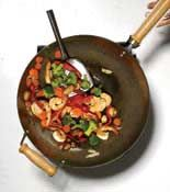 how to use a wok
