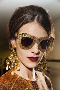 Statement at Dolce & Gabbana.