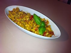 Pasta al Pesto Sfiziosa on http://www.lericettedistefano.com