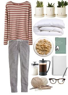 Tomorrow / Daughter by rebeccarobert featuring a crew neck shirtR13 crew neck shirt / J.Crew slim pants / Illesteva clear sunglasses / ...
