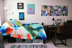 Interior Design for Modern Nomads Dorm Design, Interior Design, Cool Dorm Rooms, Dorm Walls, Dorm Life, Toddler Bed, College, Cool Stuff, Modern