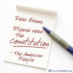 Obama says the Supreme Court should not strike down laws passed by Congress. Obama should read the Constitution!