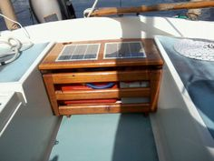 My boat didn't come with any kind of fuel locker, so I added one.