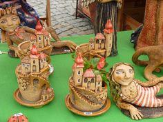 Beroun - hrnčířské trhy - květen 2012 – jitkaw – album na Rajčeti Pottery, Little Cottages, Ceramica, Pottery Marks, Ceramic Pottery, Pots, Ceramic Art, Ceramics