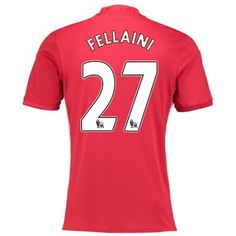 Manchester United 16-17 Marouane #Fellaini 27 Hjemmebanesæt Kort ærmer,208,58KR,shirtshopservice@gmail.com