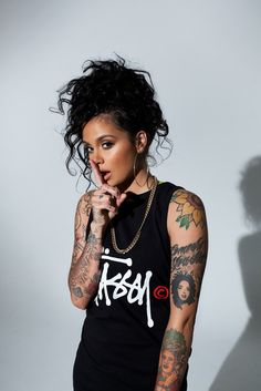 Kehlani Parrish, better known by her stage name Kehlani, is an American singer-songwriter from Oakland, California. She is a member of HBK Gang. She is signed with Atlantic Records.