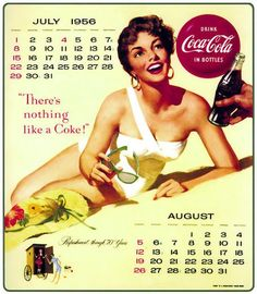 Coca-Cola Pin-up Calendar