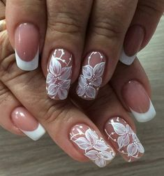 23 Romantic Lace Nail Designs; today we are here sharing and talking about the lace nail art ideas.