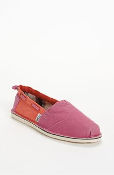 TOMS 'Bimini - Two Tone' Slip-On (Women) available at #Nordstrom. I bought them in green/blue
