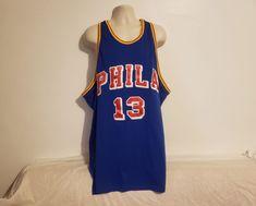 335a04a61 76ers Wilt Chamberlain  13 Phila Hardwood Classic Size 60 Blue Jersey   MitchellNess Wilt Chamberlain