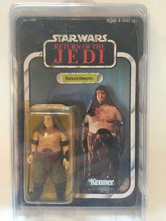 Vintage Star Wars ROTJ Kenner Rancor Keeper 77 Back 1983 Unpunched   eBay