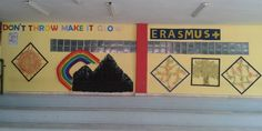 Crafts realized from students, parents and teachers or 4th high school of Komotini